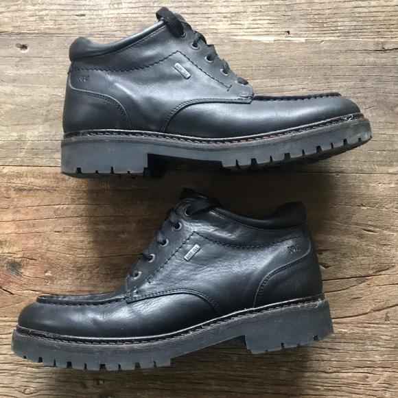 Johnston & Murphy Other - Johnston & Murphy Black Leather goreTex Boots 10.5